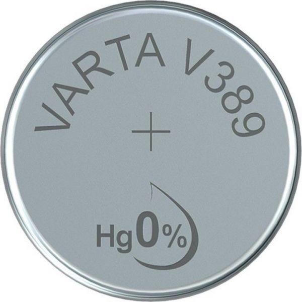 Silberoxid-Knopfzelle Typ SR54 / V389 von Varta